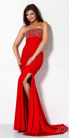 Cheap Jovani 171987 prom dress  Formal Strapless Sweetheart Jasz ...
