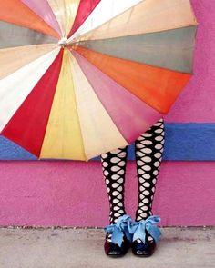 bleistift-und-radiergummi:    Vintage Umbrella & Tap Shoes