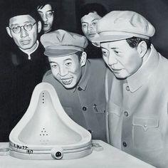 SHI XINNING http://www.widewalls.ch/artist/shi-xinning/ #painting