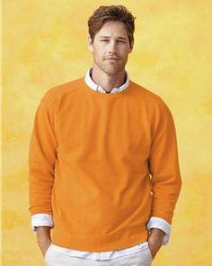 Comfort Colors- Men's- Pigment Dyed- Crewneck Sweatshirt- Super Heavy 80/20 -1566