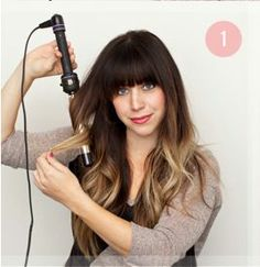 ombre hair with bangs – Google Search