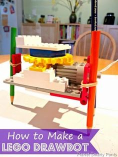 How to Make a Lego Drawbot |Planet Smarty Pants…This would make an amazing STEM engineering challenge!
