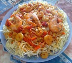 Food Processor Recipes, Seafood, Spaghetti, Food And Drink, Pizza, Cooking Recipes, Sweets, Meat, Chicken