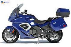 model of Triumph Trophy SE motorcycle. Triumph Bikes, Touring Motorcycles, Steve Mcqueen, Motorcycle Bike, Vintage Bikes, Motorbikes, Vehicles, Bike Stuff, Models