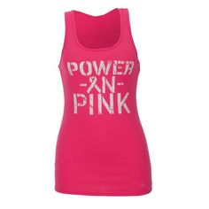 Under Armour® Women's POWER IN PINK Victory Tank Top