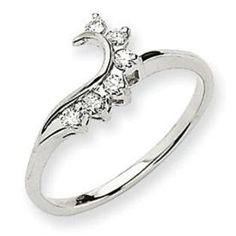 previously owned enhancer 15 ct tw diamonds 14k white gold white gold weddings ring enhancer and wedding - Wedding Ring Wrap