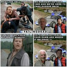 b4e2a67fad6a0777675b99dec44f7706 eugene oneill dead memes where thewalkingdead gang tried to go after the prison poor people