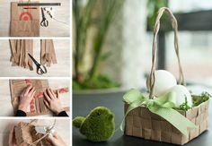 Lavoretti di Pasqua con carta intrecciata, ecco le idee più belle per un fai da te creativo e divertente. Se hai un po' di manualità i cestini e le uova di Pasqua con carta intrecciata sono quello che fa per te. Scopri come fare!