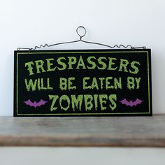 have a laugh this halloween with humorous signs and decor from cracker barrel