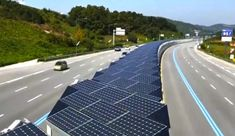 South Korea Ingeniously Uses Solar Panels To Cover Bike Lane To Attain Solar Power And Shade Bikers