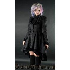 Veste Gothique Victorien Lolita Brocard