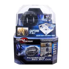The Spy Gear Panosphere 360 Spy Cam is top-level surveillance technology. Requires 1 lithium battery, not included. Ages 8 and up. With this new piece of spy gear you can record action in every direction! Arma Nerf, Spy Tools, Kinds Of Camera, Spy Gadgets, Special Ops, Spy Camera, Toys R Us, Ford Trucks, Hd Photos