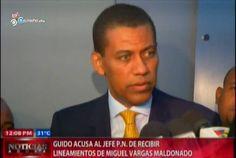 Guido Acusa Al Jefe De La Policia De Recibir Ordenes De Miguel Vargas #Video