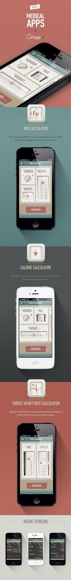 APP Graphic design. UI Mobile