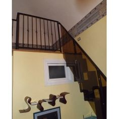 Wrought Iron RAILING. Custom Realizations. 041 Wrought Iron, Scale, Stairs, Home Decor, Ebay, Weighing Scale, Stairway, Staircases, Interior Design