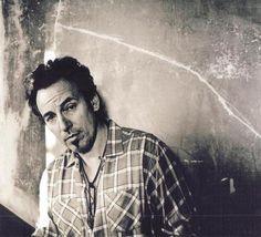 Bruce Springsteen © Anton Corbijn Clint Eastwood, Elvis Presley, David Bowie, Roy Orbison, Depeche Mode, Leraren, Zwart En Wit, Afbeeldingen, Zwart En Wit