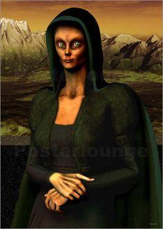 Als eines der bekanntest Gemälde wird die Mona Lisa von Leonardo da Vinci immer wieder gern etwas umgeändert. An dem Kunstposter einer außerirdischen Mona Lisa haben sicherlich nicht nur Alien-Fans große Freude.