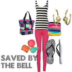 My creation inspired by Saved By The Bell character Kelly Kapowski.