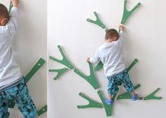 Indoor climbing wall/tree