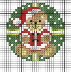 Xmas Cross Stitch, Cross Stitch Christmas Ornaments, Cross Stitch Letters, Cross Stitch Cards, Cross Stitch Rose, Christmas Embroidery, Cross Stitch Flowers, Cross Stitching, Cross Stitch Embroidery
