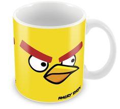 Caneca Personalizada Angry Birds Amarelo