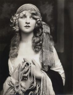 "Ziegfeld Girl ~ Myrna Darby ~ Performed in Ziegfeld's musicals"" No Foolin'"" (1926), ""Rio Rita"" (1927), ""Rosalie"" (1928) and ""Whoopee"" (1928 – 1929). Also performed in The Ziegfeld Follies of 1925 and 1927. Photo: Alfred Cheney Johnston."