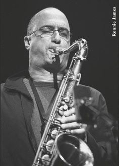Michael Brecker, who died much too early. Twenty Five Years of Jazz at SPAC...nr