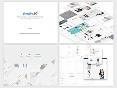 Simple.IO - Web based modern E-Commerce UI Kit by Marco Lopes