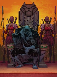 Black Panther: who is he?, Eduard PETROVICH