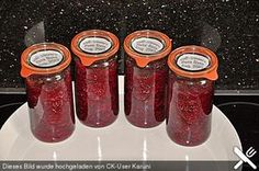Rote Bete süß - sauer Mayonnaise, Ketchup, Chutney, Olives, Salsa, Sauce Barbecue, Party Buffet, Canning Recipes, Diet Tips