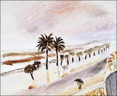 Henri Matisse – Tempête à Nice