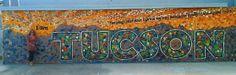 Tucson mosaic mural.