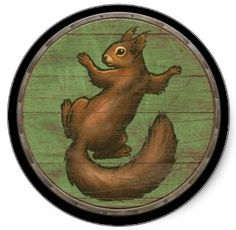 Ratatoskr is the squirrelwho runs up and down theworld treeYggdrasilto carry messages between the eagle, perched atop Yggdrasil, and the serpent Níðhöggr, who dwells beneath one of the three roots of the tree.