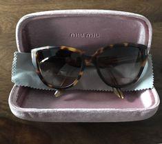 7260094e8c6 Details about Miu Miu Tortoiseshell Cats Eye Sunglasses The style code is  SMU 09N