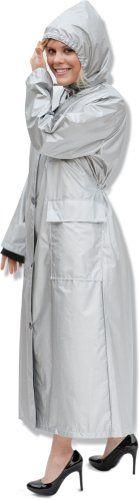 Shaynecoat Raincoat for Woman Silver $30.00