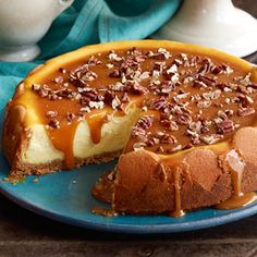Praline Cheesecake Recipe | Taste of Home