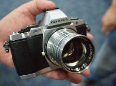 Olympus Silver E-M5. <3
