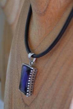 www.limye.com  Acero 316L-piedra preciosa-cordón cuero legítimo