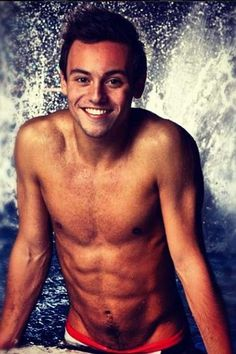 He may not have won Gold at the Olympics, but Tom Daley takes home first prize for those abs.