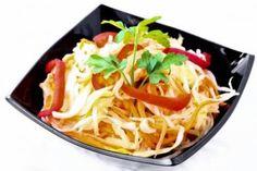 Постный салат с капустой, морковью и редькой по-корейски / Простые рецепты