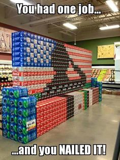 Someone went above and beyond with this display