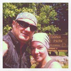 photo by slrohrbaugh: Us at Caledonia State Park