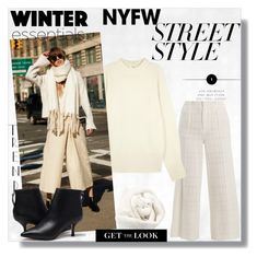 """NYFW Street Style"" by emperormpf ❤ liked on Polyvore featuring Roland Mouret, The Row and Brunello Cucinelli"