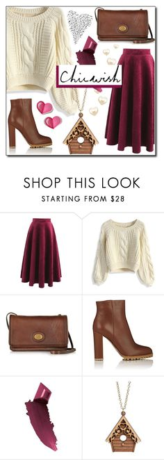 """""""Chic New Year's"""" by branqa on Polyvore featuring Chicwish, The Bridge, Gianvito Rossi and Bobbi Brown Cosmetics"""