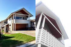 Redhead Beach House - Habitat Studio Architects Bridge Restaurant, Gold Coast, Habitats, Architects, Beach House, Living Spaces, Yard, Cottage, Mansions