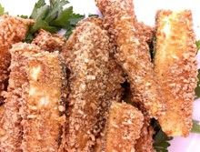 Gluten Free Breaded Zucchini Spears
