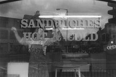 George Tice, Sandwich Shop, Thornton, Yorkshire, 1991