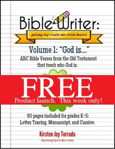 Bible Writer product launch