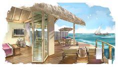 MILAIDHOO ISLAND Maldives   LANDSCAPE ARCHITECTURE, INTERIOR DESIGN & SWIMMING POOL DESIGNED BY TOPO DESIGN STUDIO