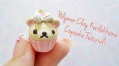 Rilakkuma Cupcake Polymer Clay Tutorial